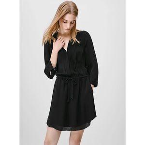 Babaton (Aritzia) 'Bennett' Silk Dress